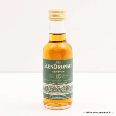 GlenDronach 15 Year Old Revival Mini 5cl