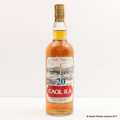 Caol Ila 20 Year Old Sestante 75cl