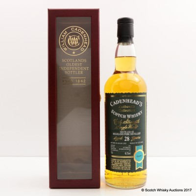 Highland Park 1985 28 year Old Cadenhead's
