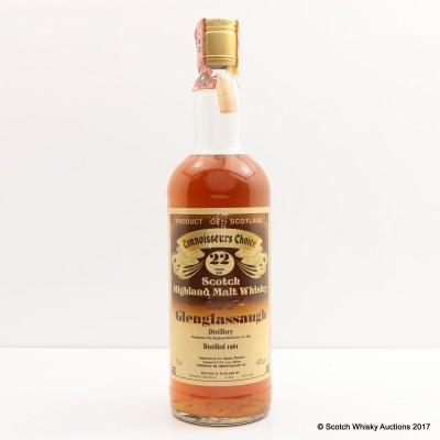 Glenglassaugh 1961 22 Year Old Connoisseurs Choice 75cl