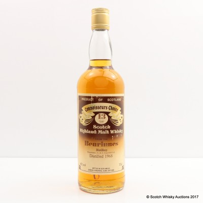 Benrinnes 1968 13 Year Old Connoisseurs Choice 75cl