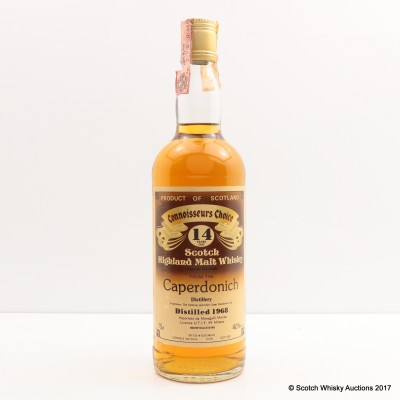 Caperdonich 1968 14 Year Old Connoisseurs Choice 75cl