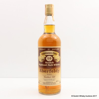 Aberfeldy 1969 16 Year Old Connoisseurs Choice 75cl