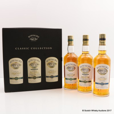Bowmore Classic Collection 3 x 20cl