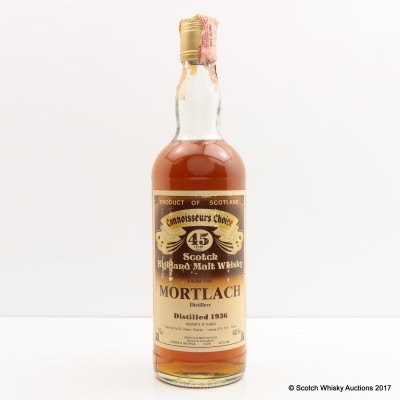 Mortlach 1936 45 Year Old Connoisseurs Choice 75cl