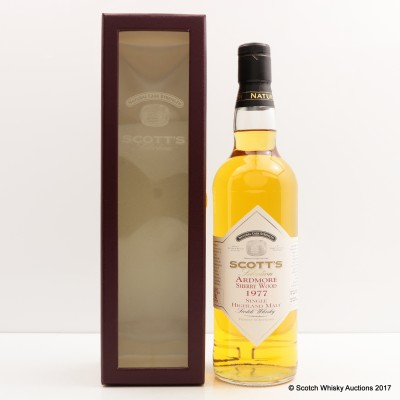 Ardmore Sherry Wood 1977 Scott's Selection