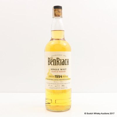 BenRiach 13 Year Old 1994 Release