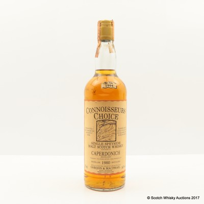 Caperdonich 1980 Connoisseurs Choice