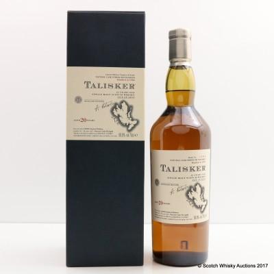 Talisker 20 Year Old 2003 Release