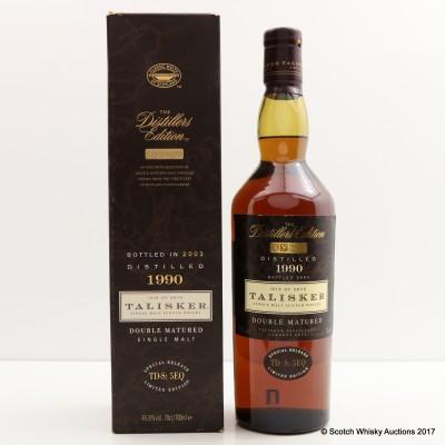 Talisker 1990 Distillers Edition