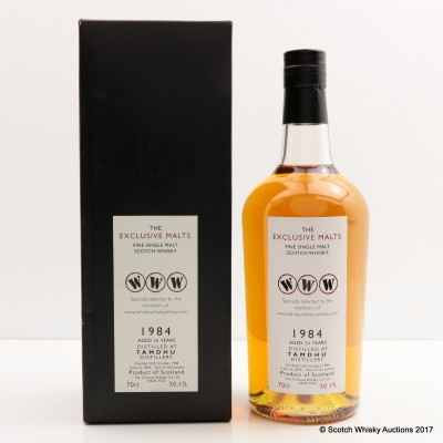Tamdhu 1984 26 Year Old Creative Whisky Co