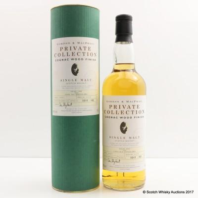 Caol Ila 1990 Cognac Finish Gordon & Macphail