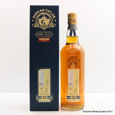Bowmore 1982 22 Year Old Duncan Taylor