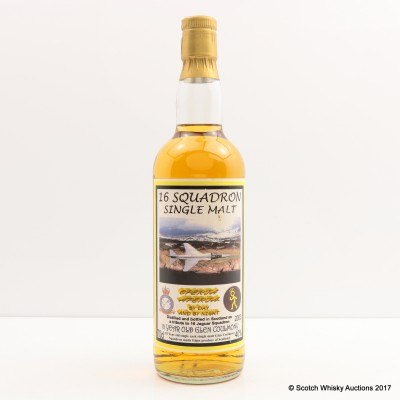 10 Year Old Single Malt for 16 Squadron
