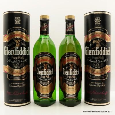 Glenfiddich Pure Malt 2 x 75cl