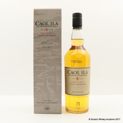 Caol Ila 8 Year Old Unpeated 2008 Release