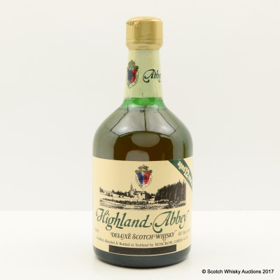 Highland Abbey 12 Year Old 76cl