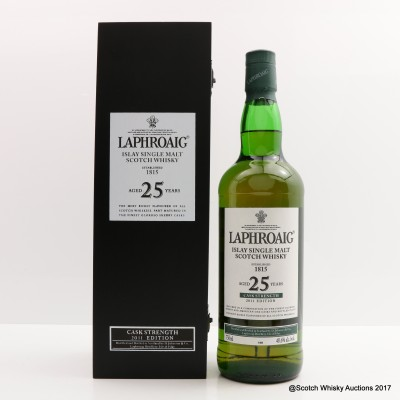 Laphroaig 25 Year Old Cask Strength 2011 Edition 75cl