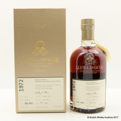Glenglassaugh 1972 41 Year Old Rare Cask Release