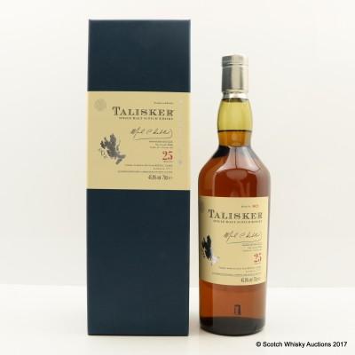 Talisker 25 Year Old 2011 Release