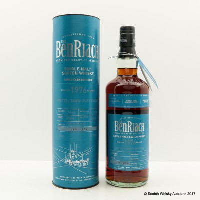 BenRiach 1976 39 Year Old Peated Tawny Port Finish