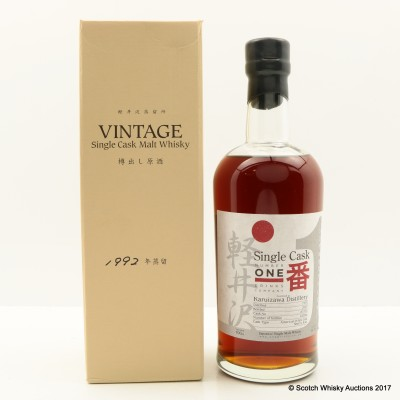 Karuizawa 1992 Cask #3330