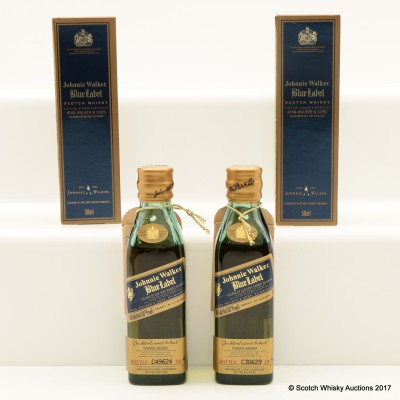 Johnnie Walker Blue Label Minis 2 x 5cl