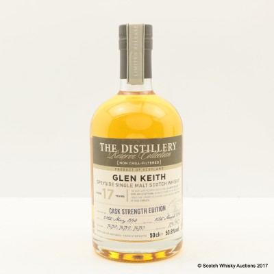 Glen Keith 1998 17 Year Old Distillery Reserve Collection Chivas Brothers 50cl