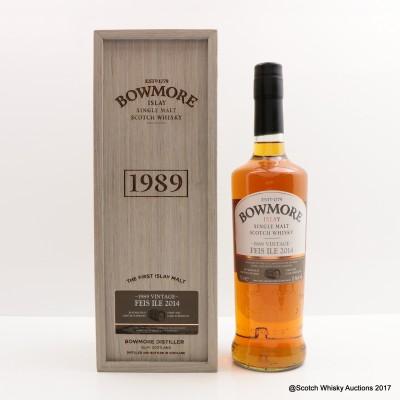 Bowmore Feis Ile 2014 1989 Vintage