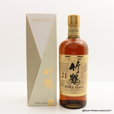 Nikka Taketsuru Pure Malt 21 Year Old