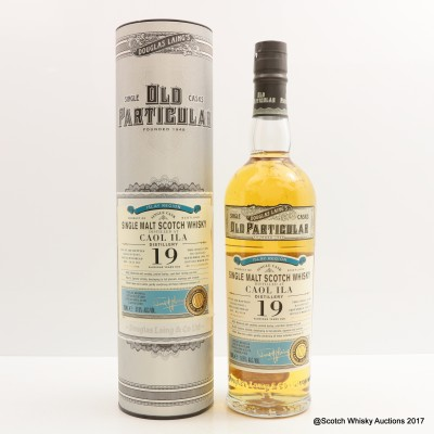 Caol Ila 1996 19 Year Old Old Particular