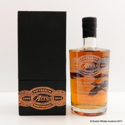 Arran 15th Anniversary Distillery Only Bottling