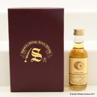 Glen Scotia 1966 27 Year Old Signatory Mini 5cl