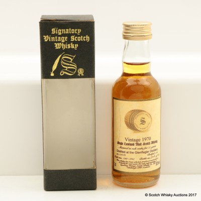 Glenflagler 1970 23 Year Old Signatory Mini 5cl