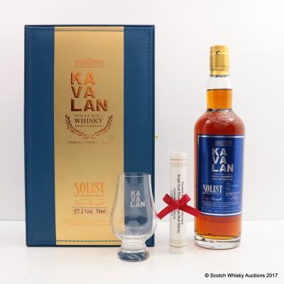 Kavalan Solist Vinho Barrique With Glass
