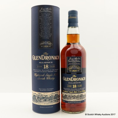 GlenDronach 18 Year Old Allardice