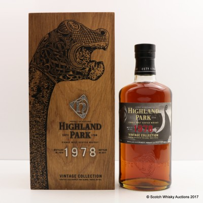 Highland Park 1978 Vintage Collection