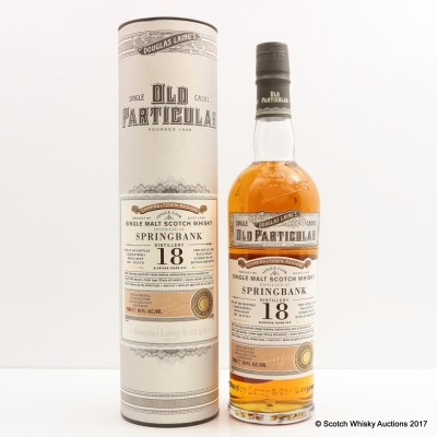 Springbank 1996 18 Year Old Old Particular