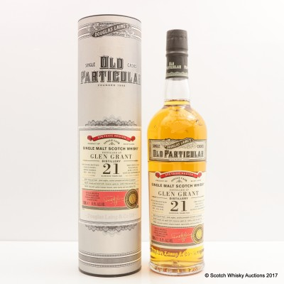 Glen Grant 1995 21 Year Old Old Particular