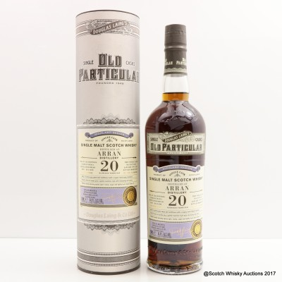 Arran 1997 20 Year Old Old Particular