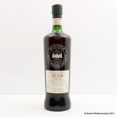 SMWS 35.150 Glen Moray 2005 10 Year Old