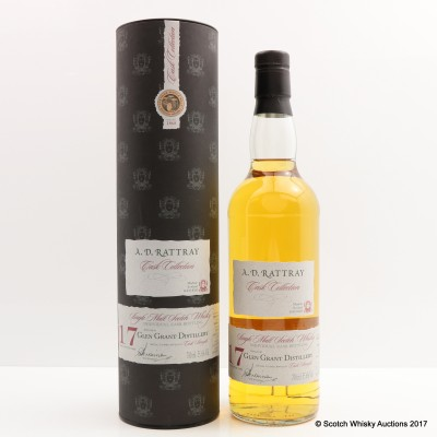 Glen Grant 1993 17 Year Old A.D. Rattray