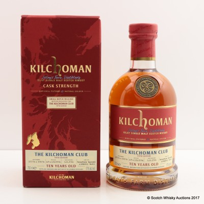 Kilchoman 2006 10 Year Old Kilchoman Club Exclusive