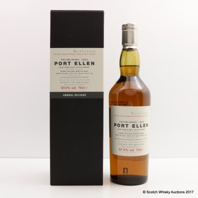 Port Ellen 5th Annual Release 1979 25 Year Old