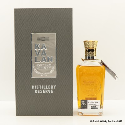 Kavalan Distillery Reserve Rum Cask 30cl