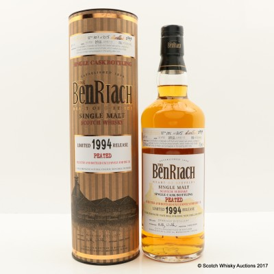 Benriach 1994 19 Year Old Peated