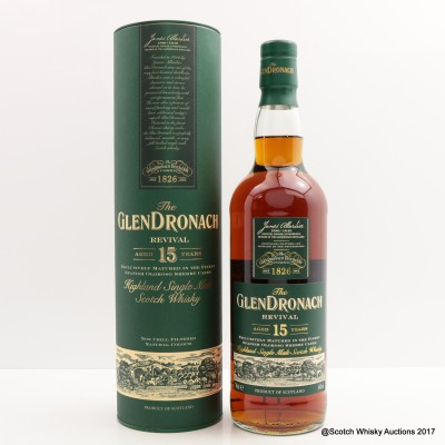 GlenDronach 15 Year Old Revival