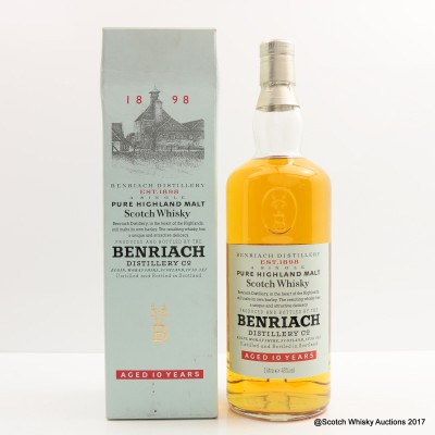 BenRiach 10 Year Old Old Style 1L
