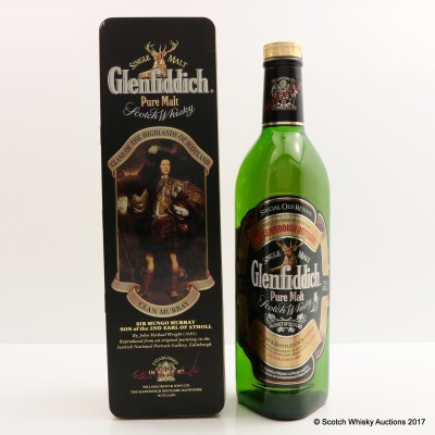 Glenfiddich Clans Of The Highlands Of Scotland Clan Murray 75cl