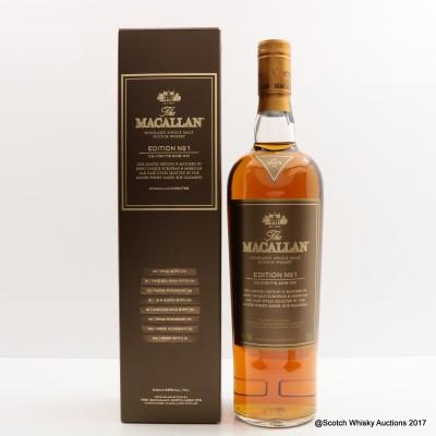 Macallan Edition No1 75cl